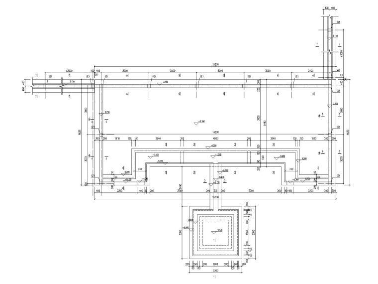 [昆明]示范区钢筋混凝土建筑结构施工图_1
