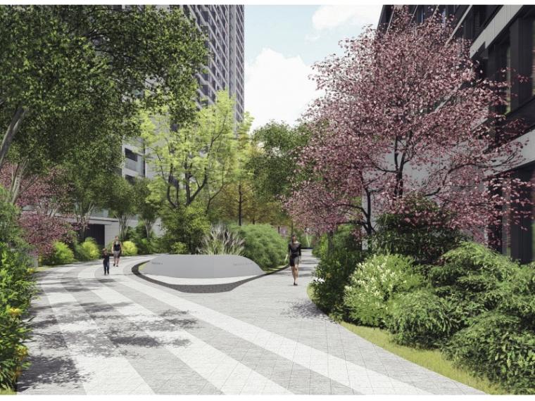 [杭州]现代典雅简约居住区景观概念方案设计-image.png