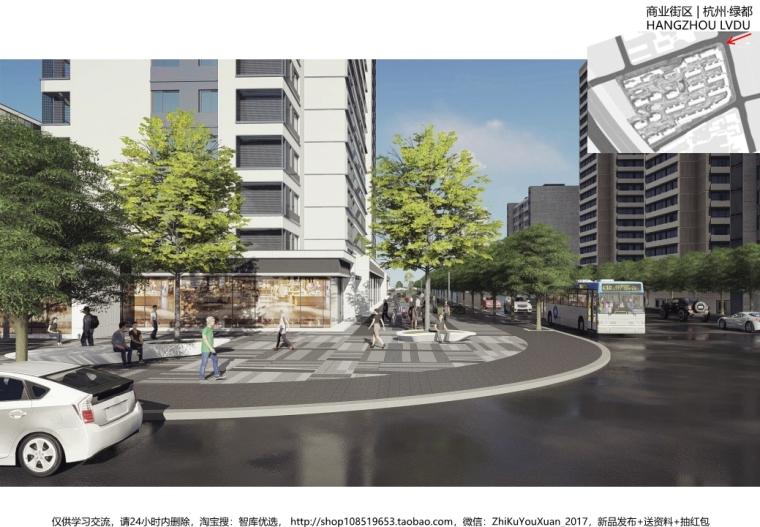 [杭州]现代典雅简约居住区景观概念方案设计_12