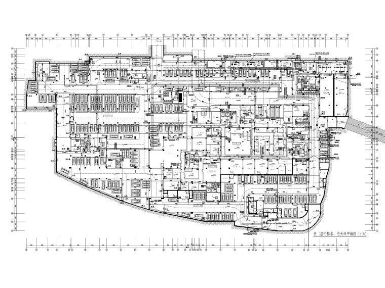 [贵州]旅游中心给排水消防系统设计图纸2020_3