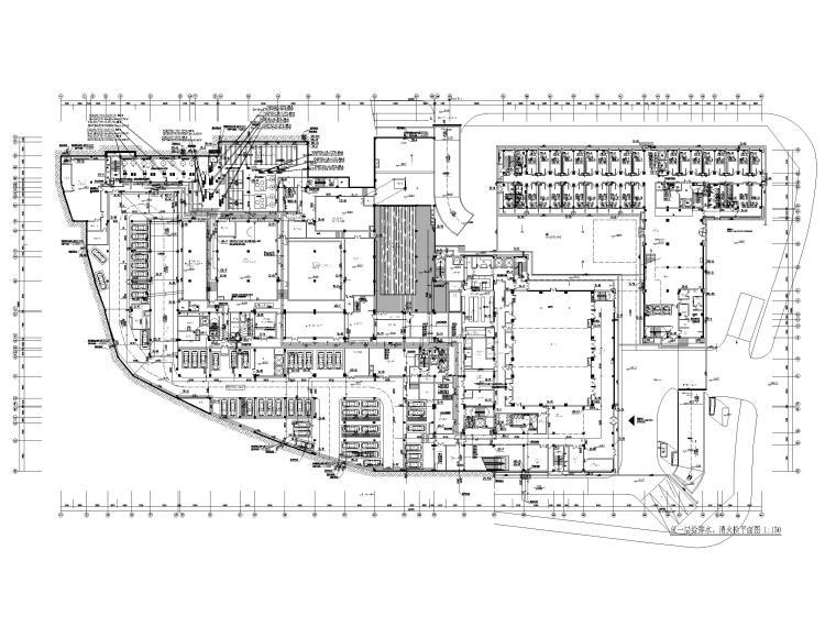 [贵州]旅游中心给排水消防系统设计图纸2020_4