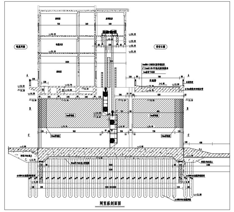[安徽]泵站及节制闸主体高支模施工专项方案_1