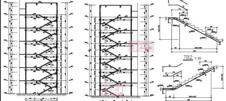 [贵州]6层框架结构宿舍楼结构施工图2020_6