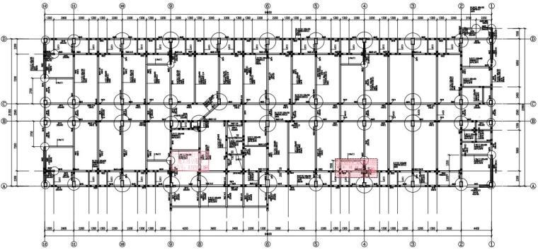 9层框架剪力墙结构男生宿舍结构施工图2020_1