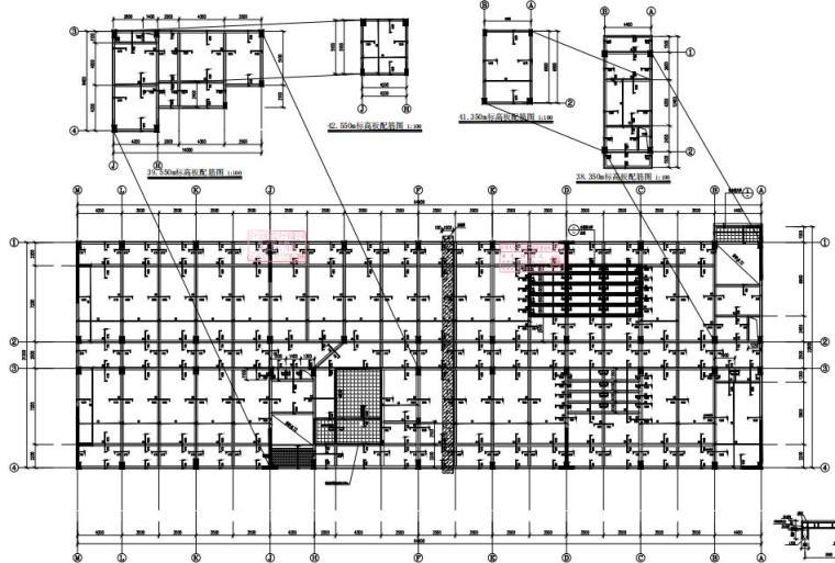 9层框架剪力墙结构男生宿舍结构施工图2020_5