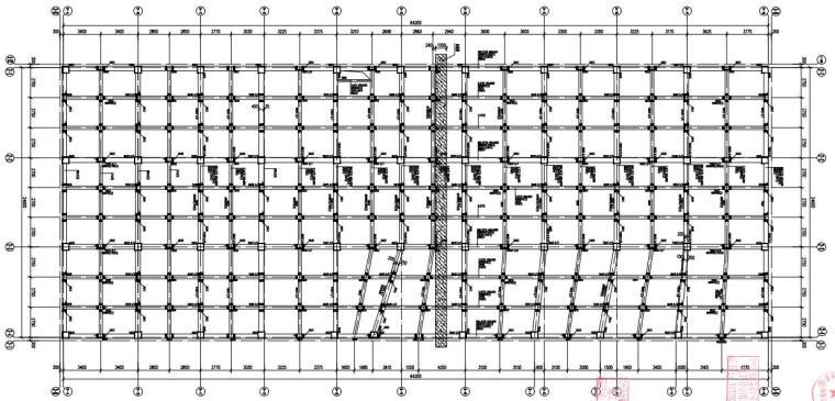 [贵州]单层框架结构地下车库结构施工图2020_1