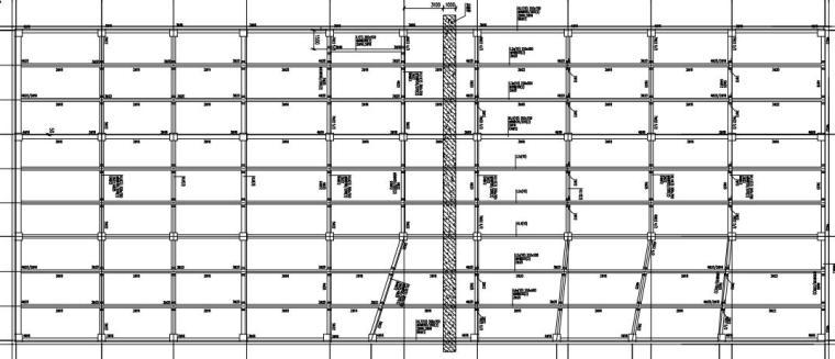 [贵州]单层框架结构地下车库结构施工图2020_5