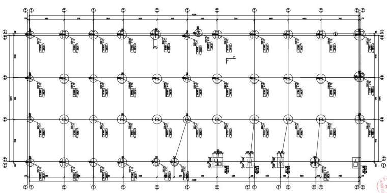 [贵州]单层框架结构地下车库结构施工图2020_2