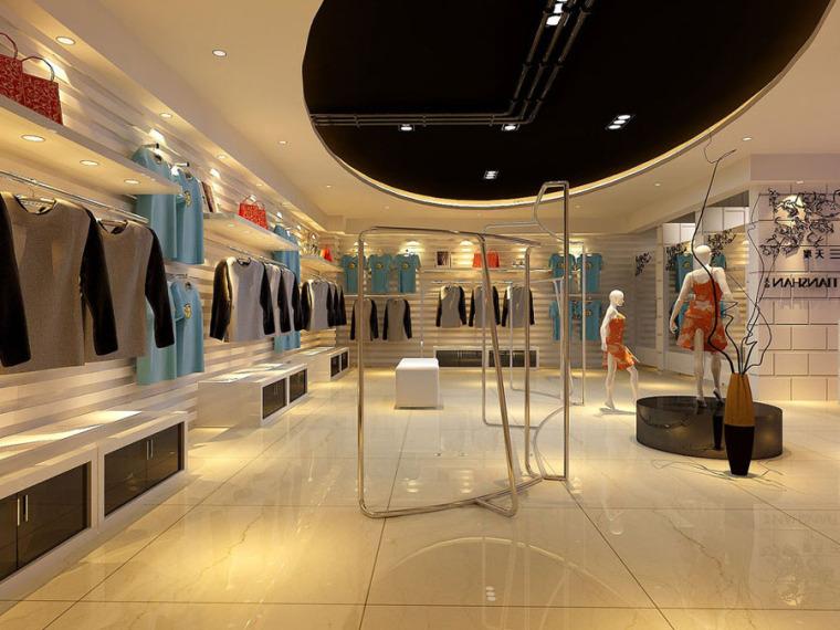 服装店设计案例效果图_11