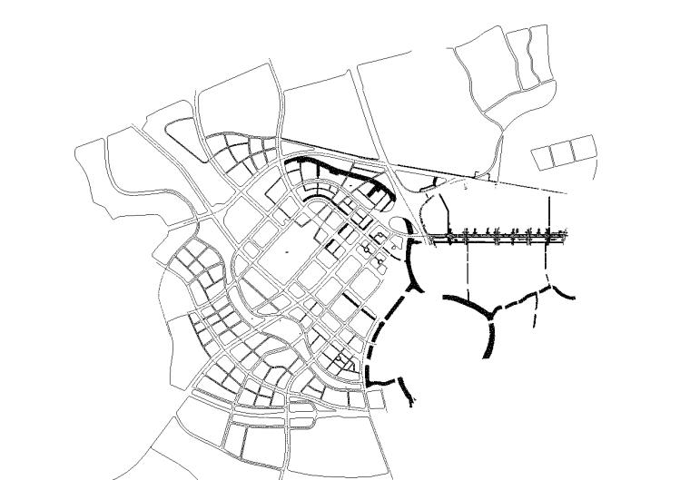 [广东]双向6车道城市主干路施工图纸全套_1