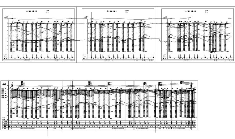 [广东]双向6车道城市主干路施工图纸全套_6