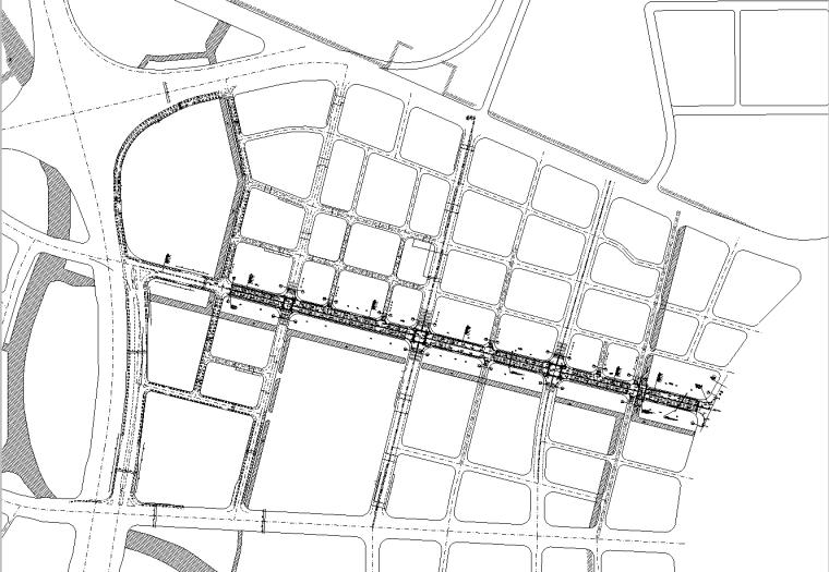 [广东]双向6车道城市主干路施工图纸全套_7