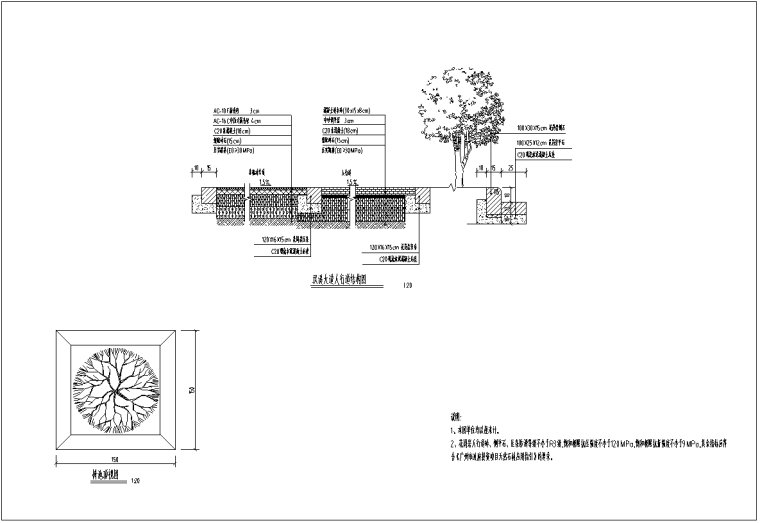 [广东]双向6车道城市主干路施工图纸全套_8