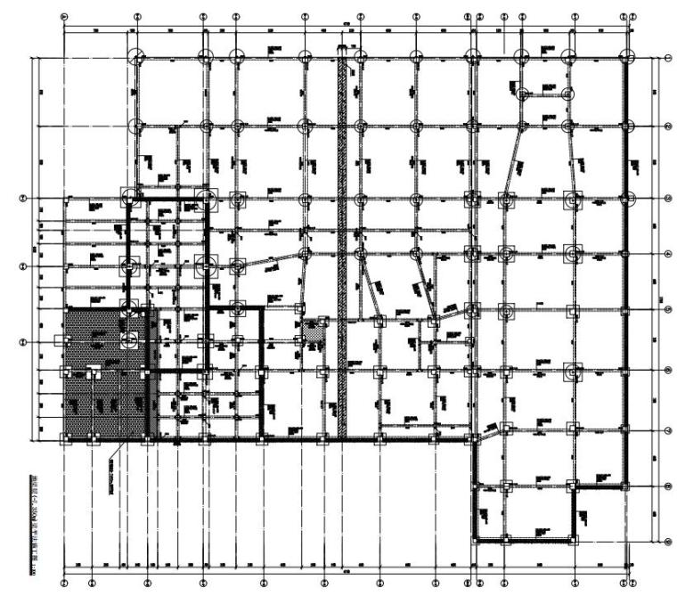 -1+4层多层框架结构实验楼结构施工图2020_2