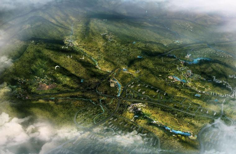 [四川]自然生态森林公园概念规划方案文本_1