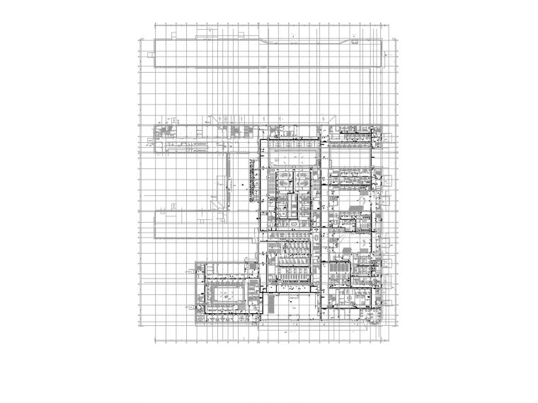 [山西]医院及机房弱电智能化图纸(多种系统)_1