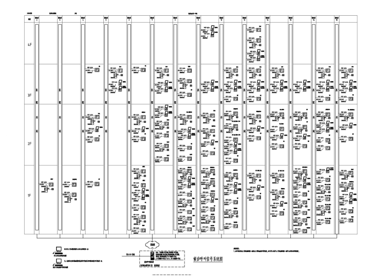[山西]医院及机房弱电智能化图纸(多种系统)_8