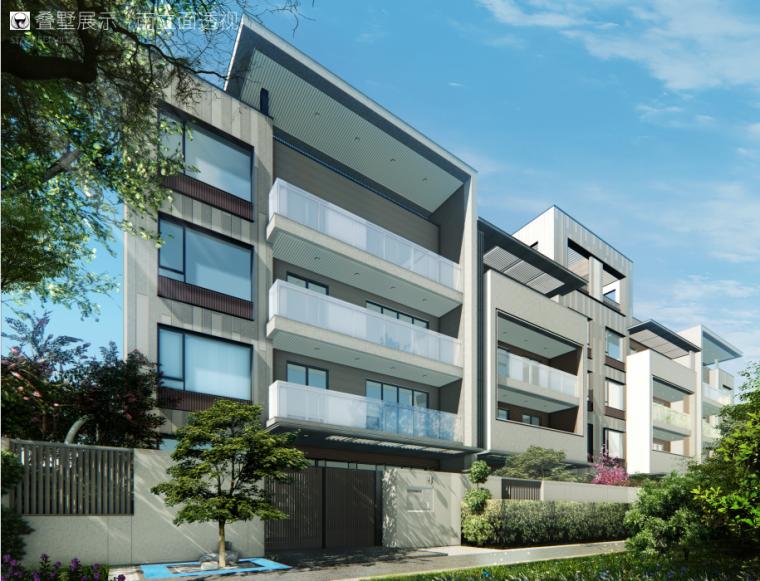 [南京]洋房+叠拼居住区规划设计文本PDF_1