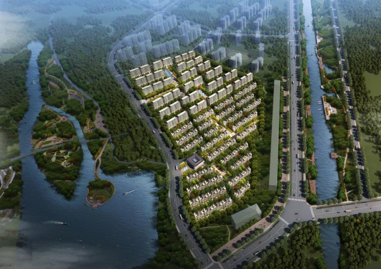 [南京]洋房+叠拼居住区规划设计文本PDF_6