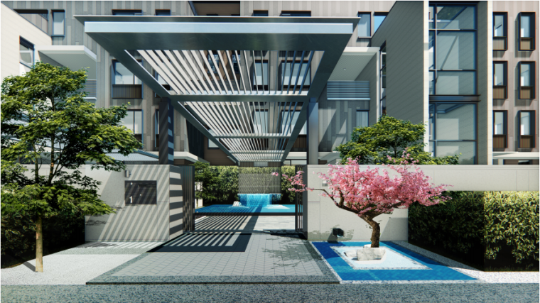 [南京]洋房+叠拼居住区规划设计文本PDF_8