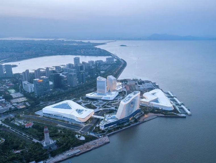 """凝固的""""白色浪花"""",厦门海峡旅游服务中心_2"""