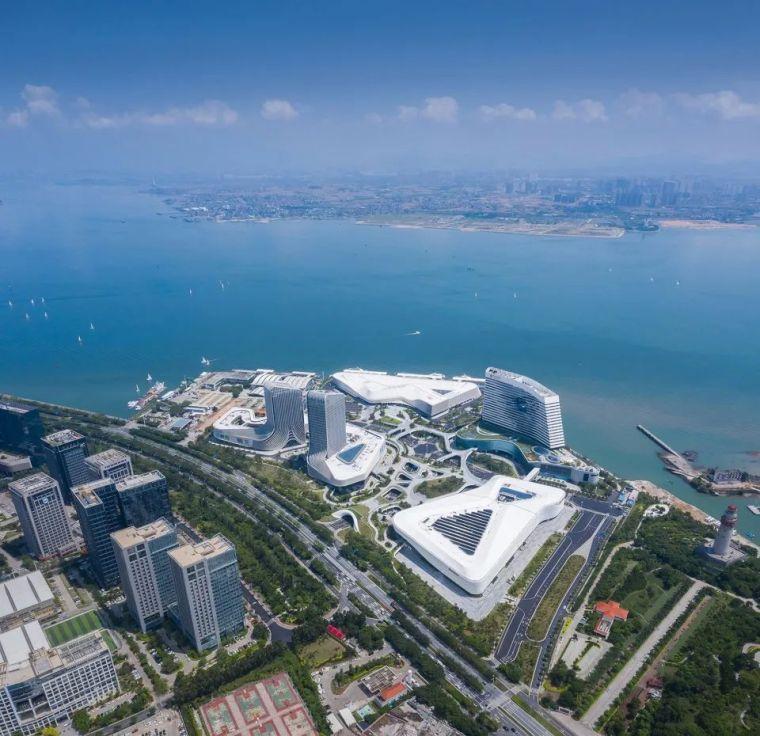 """凝固的""""白色浪花"""",厦门海峡旅游服务中心_4"""