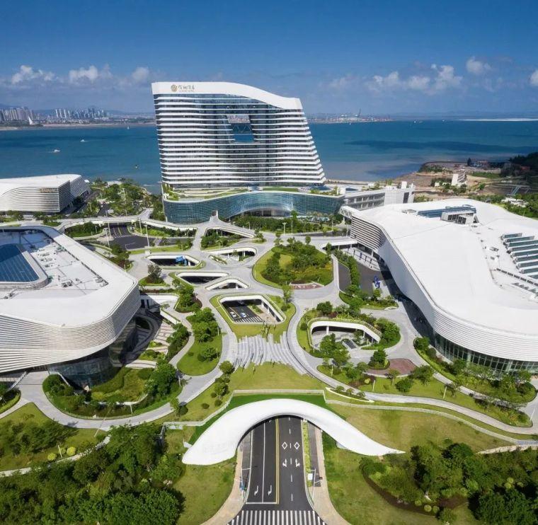 """凝固的""""白色浪花"""",厦门海峡旅游服务中心_10"""