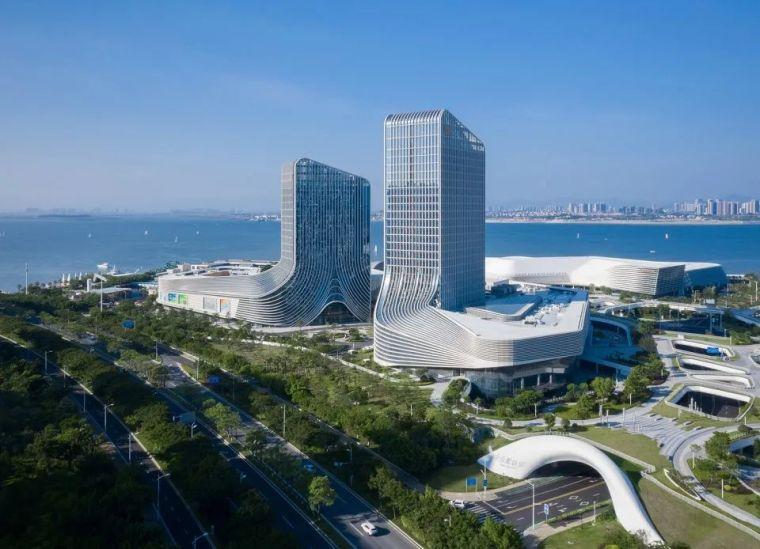 """凝固的""""白色浪花"""",厦门海峡旅游服务中心_14"""