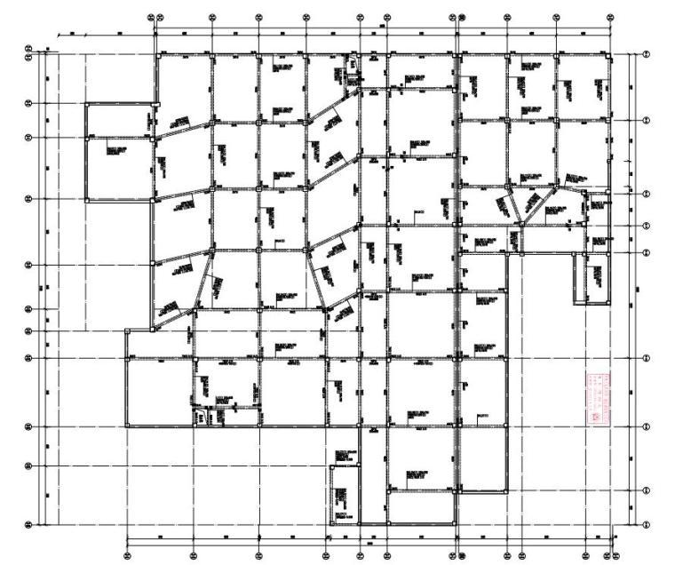 -2+4层框架结构综合楼结构施工图2020_1