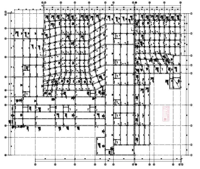 -2+4层框架结构综合楼结构施工图2020_2
