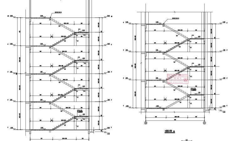 -2+4层框架结构综合楼结构施工图2020_6