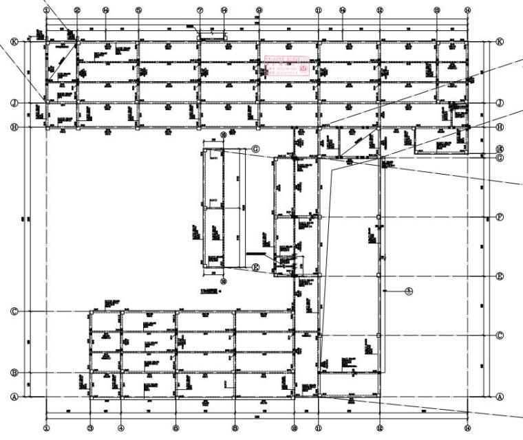 -2+4层框架结构综合楼结构施工图2020_5
