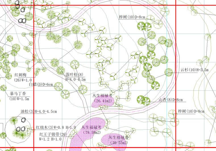 园林施工图的组成及要求(ppt)_4