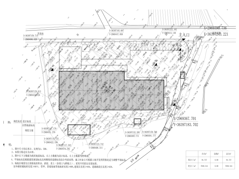 [贵州]农产品集配中心室外景观施工图_1