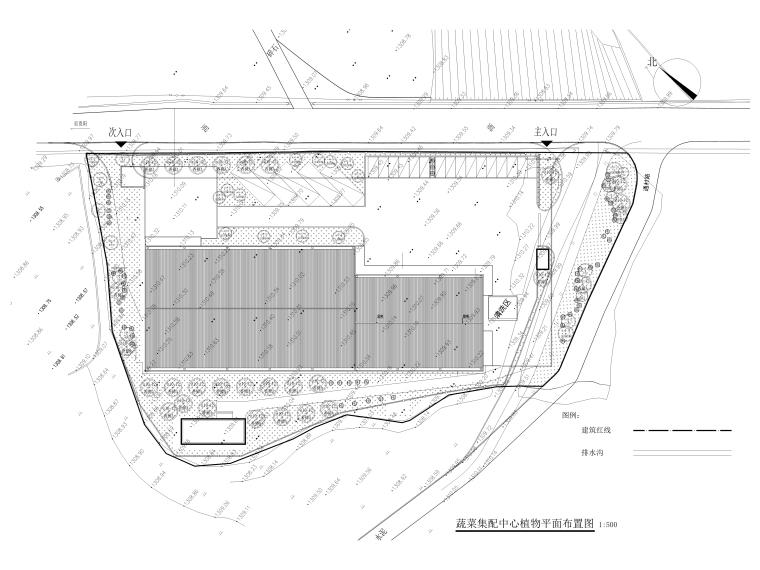 [贵州]农产品集配中心室外景观施工图_15