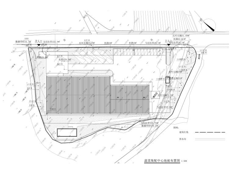 [贵州]农产品集配中心室外景观施工图_18