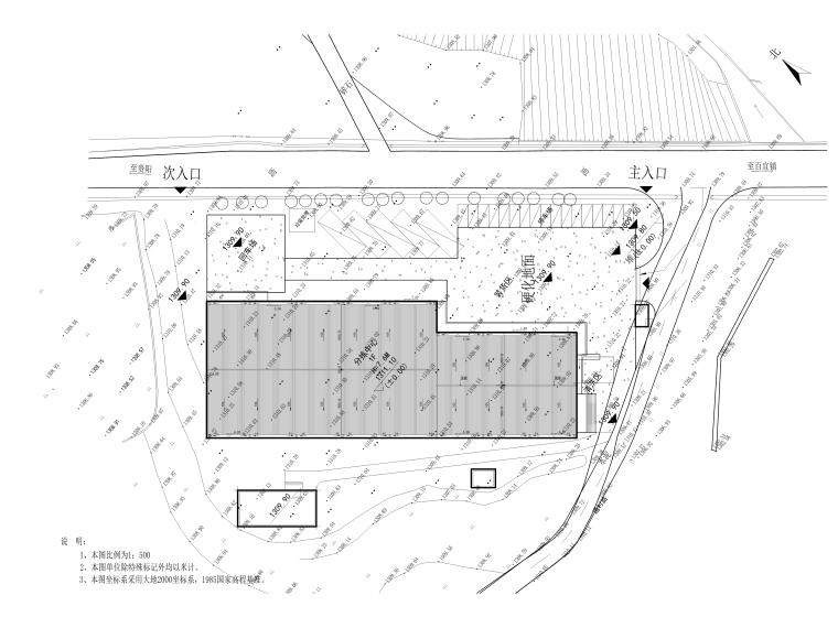[贵州]农产品集配中心室外景观施工图_3