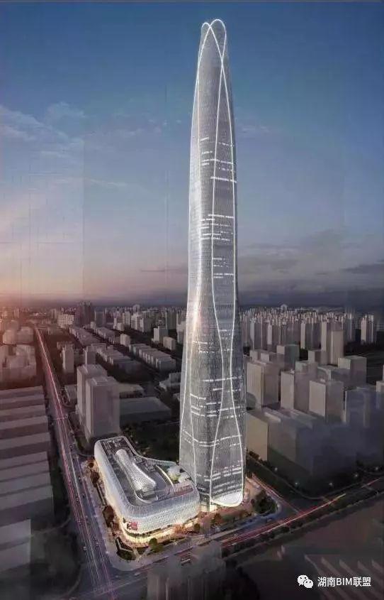 BIM技术助力天津新地标建成_1