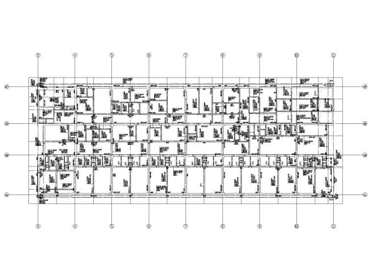 20层框架剪力墙结构医院结构施工图2019CAD_4