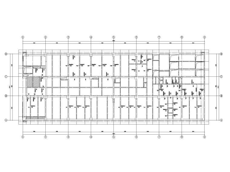 20层框架剪力墙结构医院结构施工图2019CAD_8