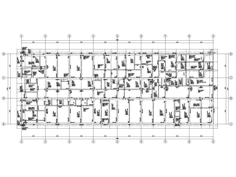 20层框架剪力墙结构医院结构施工图2019CAD_1