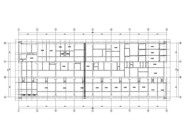 20层框架剪力墙结构医院结构施工图2019CAD_10