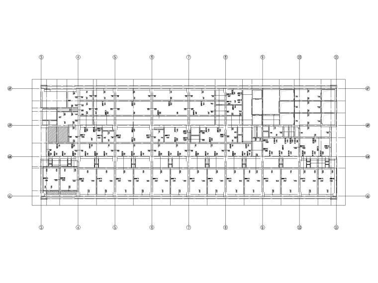 20层框架剪力墙结构医院结构施工图2019CAD_9