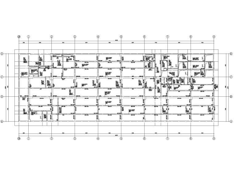 20层框架剪力墙结构医院结构施工图2019CAD_3