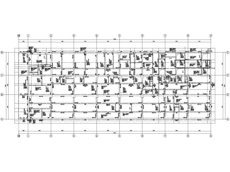 20层框架剪力墙结构医院结构施工图2019CAD_2