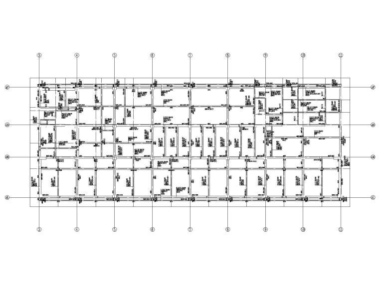 20层框架剪力墙结构医院结构施工图2019CAD_5
