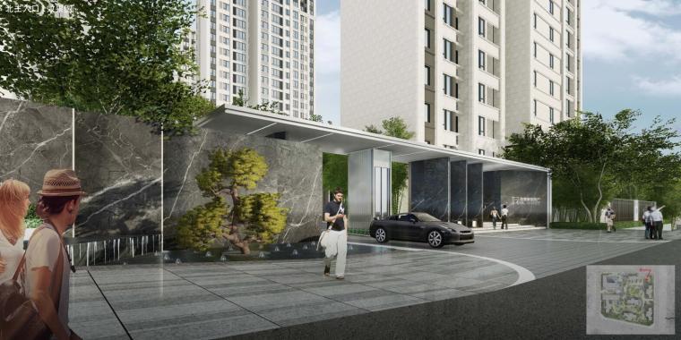 [重庆]现代东南亚风-艺术奢华住宅景观方案_1