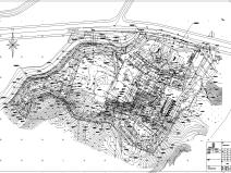 医院迁建项目边坡工程图纸及计算书全套