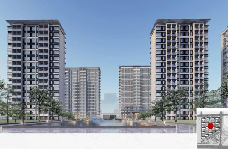 [浙江]现代风低密宜居社区住宅建筑方案设计_2