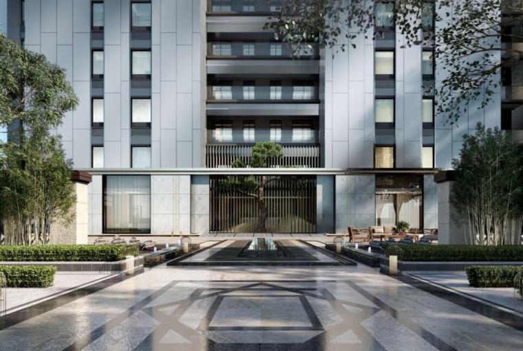 [浙江]现代风低密宜居社区住宅建筑方案设计_1